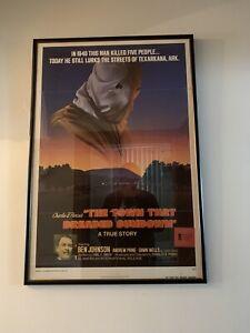 The Town That Dreaded Sundown -Original One Sheet Poster - Framed