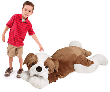 "JooJoo 60"" Jumbo Large Plush Bulldog Dog Stuffed Animal Giant Big Toy - NEW"