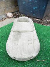 Concrete Stone Ferrari planter Garden Ornament Used in good condition