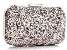Wedding Purse Clutch Bags Women's Bridals Glittery Evening Bag  323 325