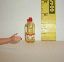 MINIATURE RE-MENT FOOD FASHION DOLL 1/6 SCALE SIZE BOTTLE OF COOKING OIL