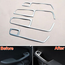 ABS Car Interior Door Window Lift Switch Button Cover Trim For Macan 2014-2015