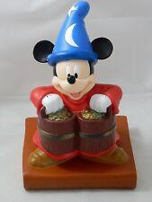 Walt Disney World Sorcerers Apprentice Mickey Plastic Coin Bank