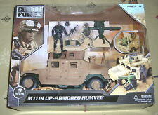 Elite Force M1114 Up-Armored Humvee with 1 Action Figure & Accessories