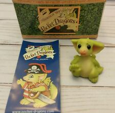 """Whimsical World Pocket Dragons""""Big Splinter Little Foot""""by Real Musgrave w/Box"""