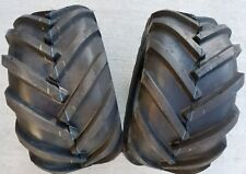 2 - 26x12.00-12 Deestone 8P Super Lug Tires PAIR AG DS5324 26X12-12 26/12-12