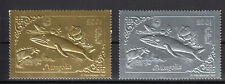 Mongolia Gold and Silver complete set 5 MNH