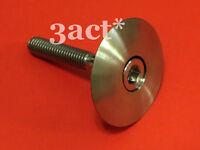 Titanium/Ti Headset Cap & M6 x 35mm Bolt - Chris King FSA Cane Creek Thomson