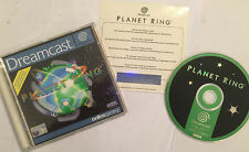 SEGA DREAMCAST GAME VIRTUA PLANET RING +BOX INSTRUCTIONS COMPLETE PAL GWO