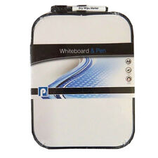 Dry Erase Whiteboard & Pen Set - With Magnetic Fixing Strips - Size 280 x 207mm