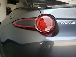 Smoke Tail light tint overlay For 2016-2021 Mazda Miata Precut Air Release 12%