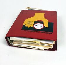 Vintage Kodak Photographic Notebook Film Processing Formulas Extensive Info