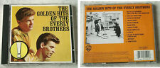 EVERLY BROTHERS The Golden Hits Of The Everly Brothers .. Warner CD