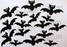 30 Halloween BAT Silhouette Die cut Embellishment Scrapbook, Cards, Party, Craft