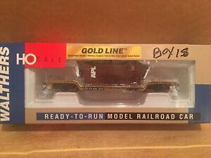 HO Walthers Trailer Train 4-Axle 90 Ton Center Depressed Flat Car TTX #130970