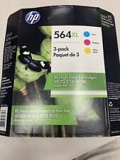 3-PACK HP GENUINE 564XL Color PHOTOSMART 5510 5515 5520 5525 11/2019