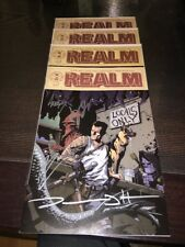 The Realm 1 Variant Elite Signed By Peck, Haun, Parks and Hester ONLY 500 MADE!