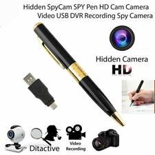 Full HD Camcorder Pen Mini DVR Camera/Color Video/Sound Recorder USB Hidden Cam