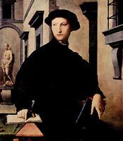 Oil painting agnolo bronzino - Young man ugolino martelli ugolino hammers canvas