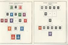 Netherlands Indies Collection 1864 to 1949 on 25 Minkus One-Sided Pages (B)
