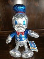"NWT Disney Donald Duck 85th Anniversary Metallic 15"" Plush Special Edition NEW"
