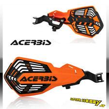 Paramani Acerbis K-future KTM Sx-sxf Exc-excf 2014-21 Arancio Nero Kit Mont.