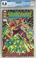Youngblood #2 CGC 9.8 First Appearance Prophet & Shadowhawk, NEW CASE, Image