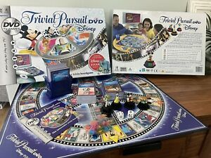TRIVIAL PURSUIT DVD DISNEY EDITION BOARD GAME VGC SEALED CARD DECK PARKER