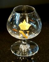 Beautiful Baccarat Crystal  Napolean Small Brandy Snifter