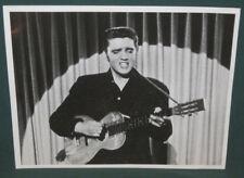 Elvis Presley B/W 8 x 10 Photo 1956 Audition The Rainman