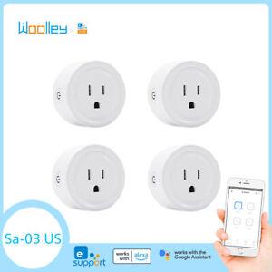 US Smart Plug Power Socket Switch WIFI ZigBee APP Control for Amazon Google 4PCS