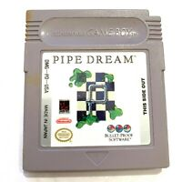 Pipe Dream ORIGINAL NINTENDO GAMEBOY GAME Tested WORKING Authentic!