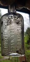 E. Hartshorn & Sons Boston Massachusetts Established 1850 Embossed Medicine