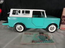 Vintage Structo Cub Station Wagon, Scout Truck, Pressed Steel Toy Vehicle In Box