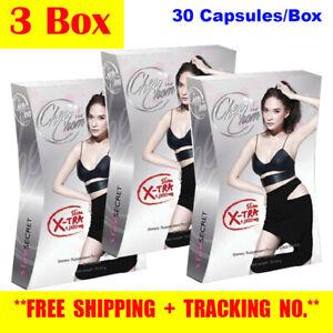 3x CHERCHOM X-TRA 1,000mg Star Secret Weight Loss Extra Boost Slim Body Block Cl