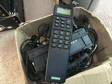 Ancien téléphone de voiture SIEMENS S24859-H2000-A40-01 VINTAGE