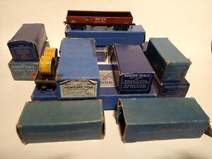 Hornby Dublo Job Lot - Goods Wagons, Footbridge, Signal BOXED