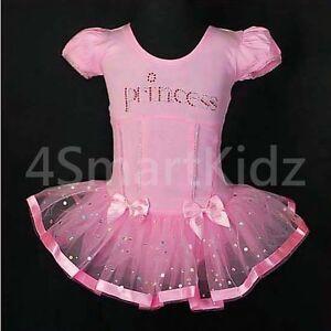 Ballet Tutu Girl Children Dance Costume Fancy Party Dress Up Size 2-7 BA007