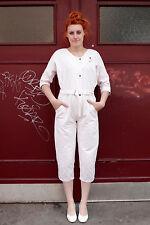 Femmes Overall Jumpsuit Hell rose light pink 80er true vintage women 80s
