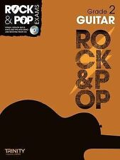 Rock & Pop Exams Guitar Grade 2 Sheet Music Book & CD Trinity College London S2