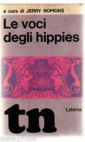 LIBRO=LE VOCI DEGLI HIPPIES=1969=JERRY HOPKINS