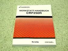 HONDA CRF 250 R , ab 2010 , CROSS , Werkstatthandbuch , Reparaturanleitung !