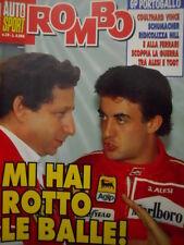 Auto & Sport ROMBO 39 1995 Lite tra Jean Alesi e Todt - Gp Portogallo vince Coul