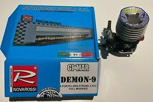 Novarossi GIMAR Full Modified Blue Demon 9 (35PLUS21) Long Stroke .21 Onroad 3.5