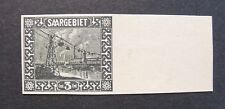 GERMANIA,Germany  Reich SARRE SAARGEBIET 1922  3c. Variant Colour 84 U Signed MH