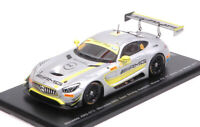 Model Car Scale 1:43 Spark Model Mercedes GT3 N.48 Winner Fia Gt World