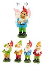 Lifetime Garden Resin Wobbling Dancing Gnome Outdoor Ornament Toadstool Statue