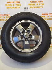 LAND ROVER DISCOVERY TD5 ALLOY WHEEL & TYRE 225/65R16 AROUND 5MM TREAD LEFT