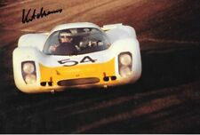Kurt Ahrens Jr  SIGNED , Porsche 908L   , Daytona  24hrs 1967