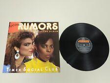 JJ9- TIMEX SOCIAL CLUB VICIOUS RUMORS VIN LP ESP 1987 PORT VG ++ DIS VG ++